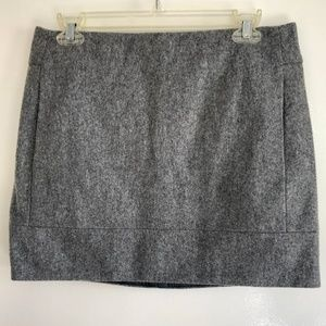 J. Crew Grey Skirt